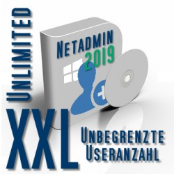 Netadmin Usermanager 2015 XXL Unlimited (Unbegrenzte Useranzahl)