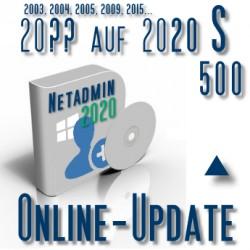 Online-Update 2007 auf 2015 (S 500 User)