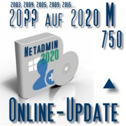 Online-Update 2007 auf 2015 (M 750 User)