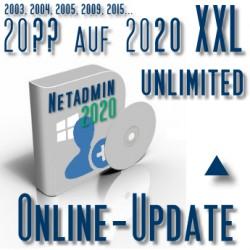Online-Update 2007 auf 2015 (XXL Unbegrenzte User)