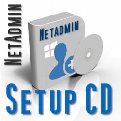 Setup CD Netadmin und Netteacher 2015 (DVD Hülle)