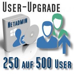 Upgrade von 250 auf 500 User