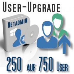 Upgrade von 250 auf 750 User