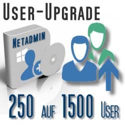 Upgrade von 250 auf 1500 User