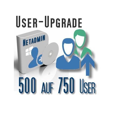 Upgrade von 500 auf 750 User