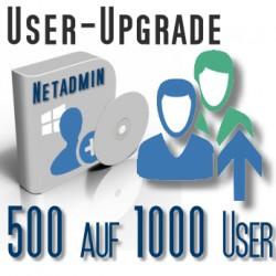 Upgrade von 500 auf 1000 User