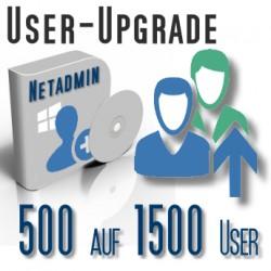 Upgrade von 500 auf 1500 User