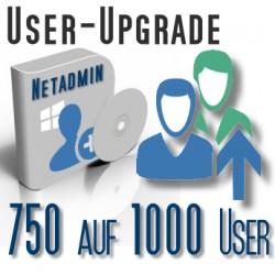 Upgrade von 750 auf 1000 User
