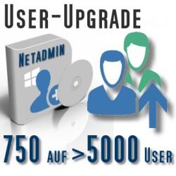 Upgrade von 750 auf Unbegrenzte User