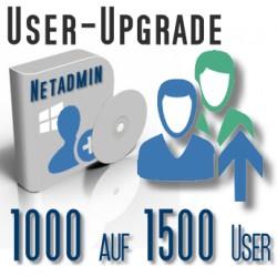 Upgrade von 1000 auf 1500 User