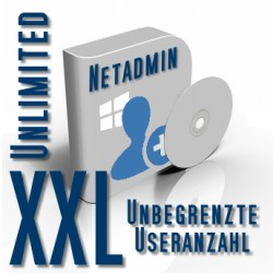 Netadmin Usermanager 2015 XXL Unlimited (Unbegrenzte Useranzahl)