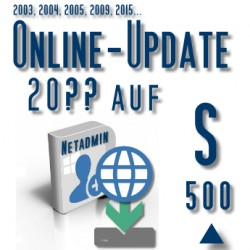 Online-Update 2007 auf 2015 (S 500 User)