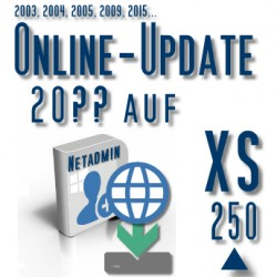Online-Update 2007 auf 2015 (XS 250 User)