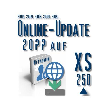 Online-Update 2007 auf 2015 (XS 250 User)