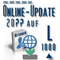 Online-Update 2007 auf 2015 (L 1000 User)