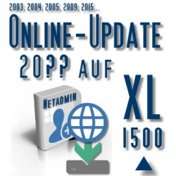 Online-Update 2007 auf 2015 (XL 1500 User)
