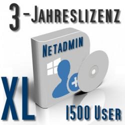 3-Jahreslizenz Netadmin XL (1500 User)