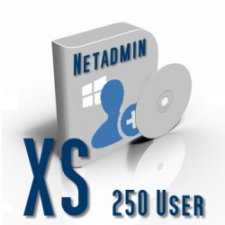 Netadmin Usermanager 2020  XS (250 User)